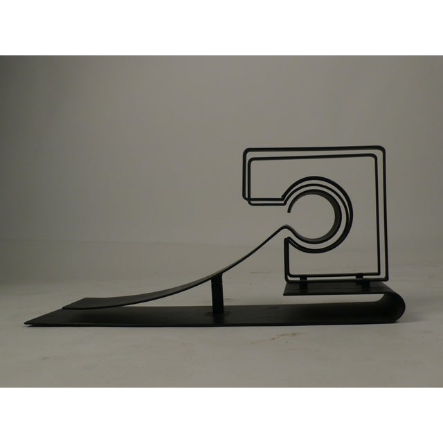 """1970s """"Symbiosis"""" a Kinetic Sculpture by Michael Secter For Sale - Image 5 of 10"""