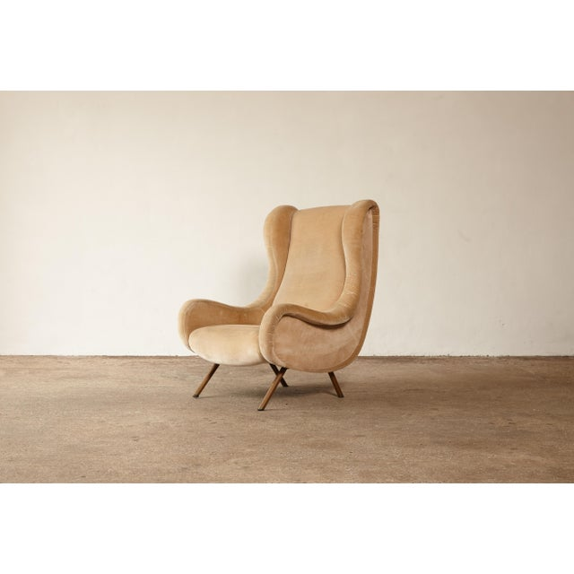 1960s Mid-Century Modern Marco Zanuso for Arflex Senior Chair For Sale - Image 12 of 12