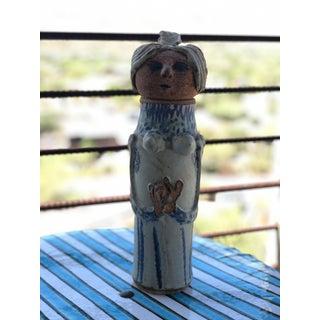 1960s Mid Century Ceramic Woman Vessel Preview