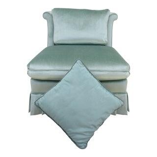Vintage Mid Century Drexel Heritage Slipper Chair For Sale