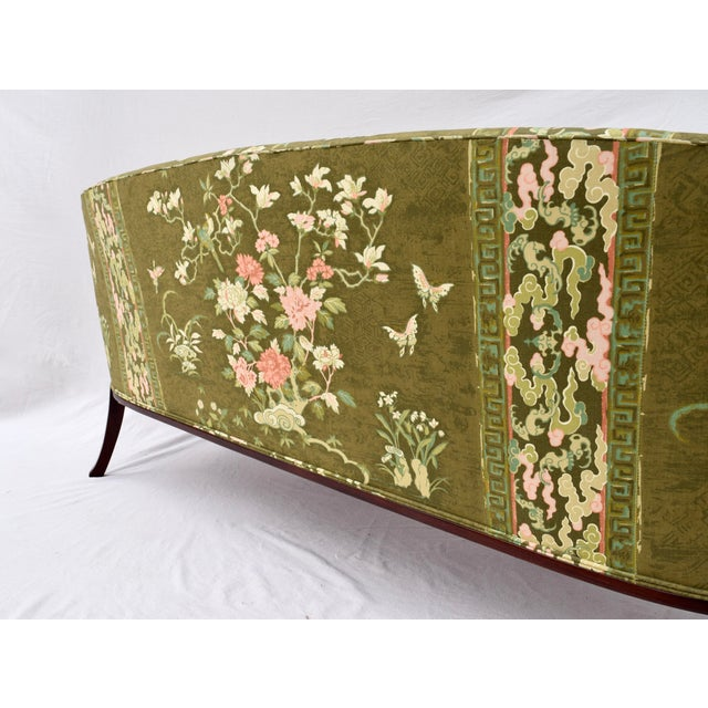 Olive Hickory Chair Federal Hepplewhite Style Sofa For Sale - Image 8 of 13