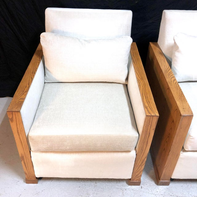 Stunning Ralph Lauren Club Chairs by Henredon—a Pair For Sale In New York - Image 6 of 13