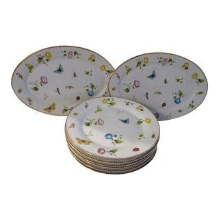 Godinger & Co. Primavera Dinnerplate & Platters, 8 Pcs For Sale
