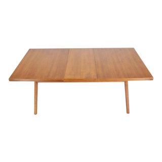 Robsjohn-Gibbings Mid-Century Modern Dining Walnut Table by Widdicomb For Sale