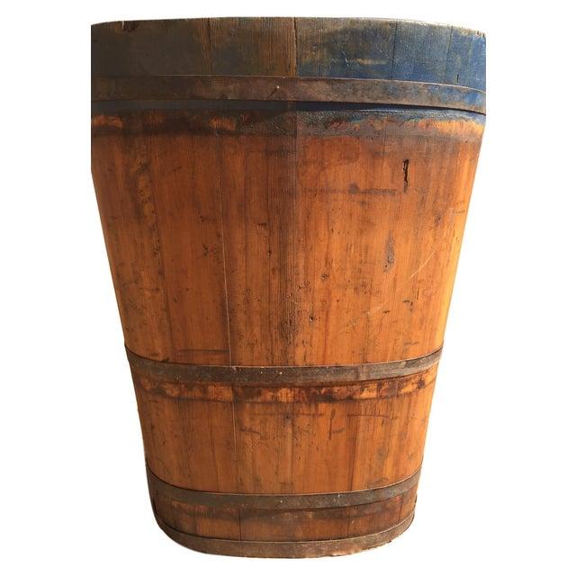 Vintage French Vineyard Barrels For Sale In Austin - Image 6 of 10
