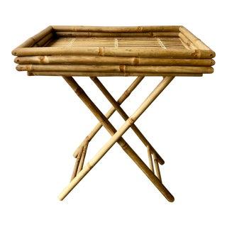 Folding Bamboo Tray/Table