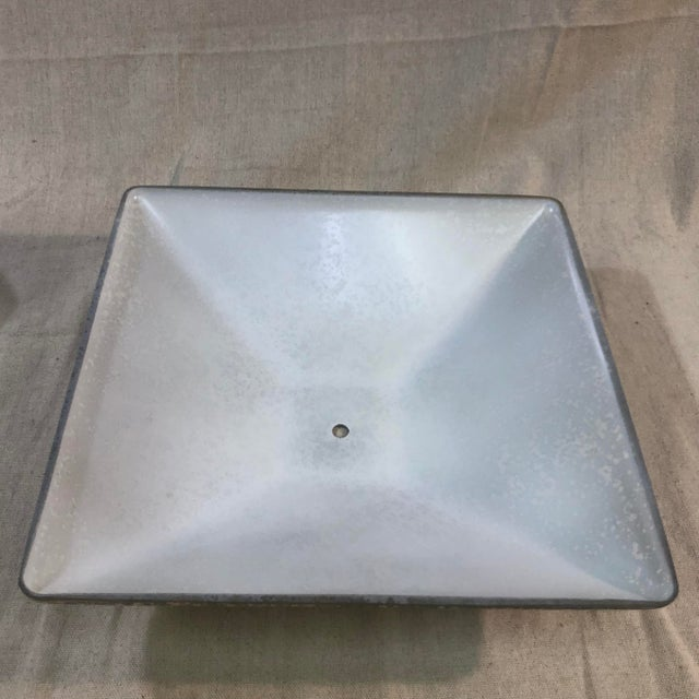 Metal Justice Design Fusion 2-Light Semi-Flush Bowl Ceiling Light For Sale - Image 7 of 12