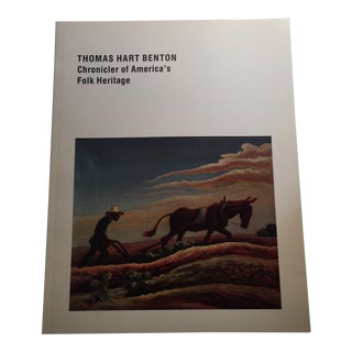"""Thomas Hart Benton: Chronicler of America's Folk Heritage"" Book For Sale"