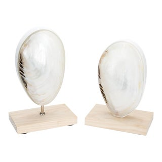 Oceanside Finials - a Pair For Sale