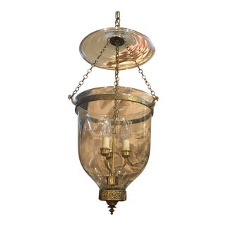 Egyptian Bell Jar Foyer Pendant Light
