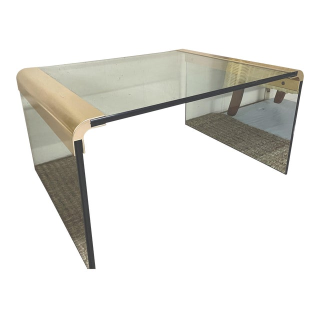 Mid-Century Modern Pace Collection by Leon Rosen Waterfall Side Table For Sale - Image 10 of 10