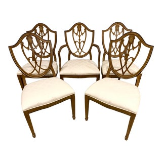 Drexel Devoncourt Dining Chairs - Set of 5 For Sale