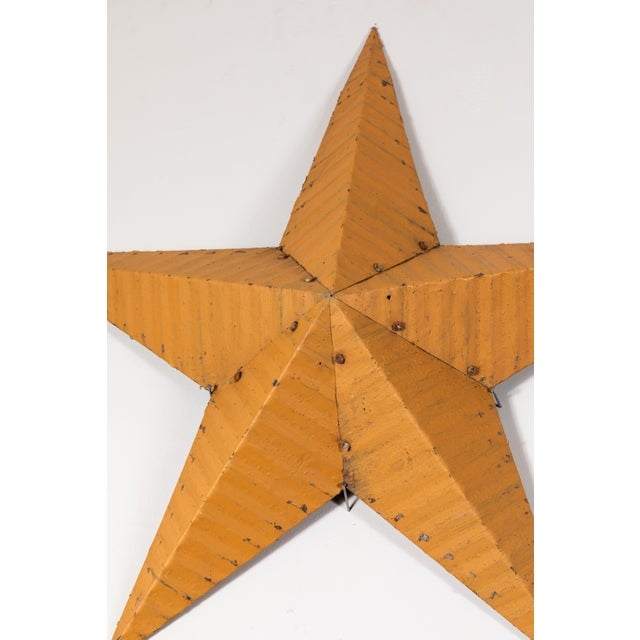 Vintage metal Amish Good Luck barn stars. Sold individually.