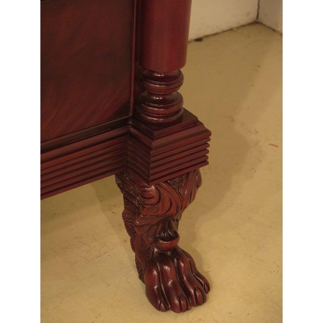 Craftique Empire Mahogany Butler Secretary Desk For Sale - Image 4 of 11