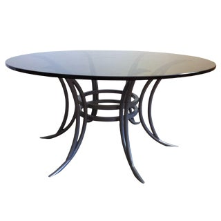 Steel Rib Coffee Table For Sale