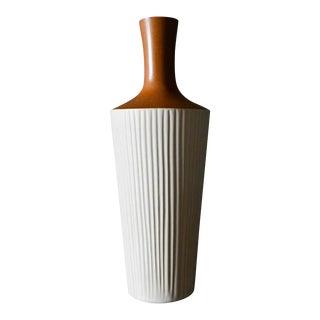 Mid-Century Modern Kitagama Kasen Ceramic Vase, Circa 1965 For Sale