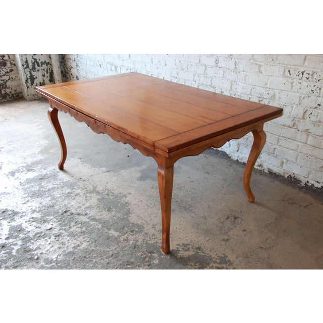 baker furniture milling road country french maple extension dining table image 3 of 11 - Extension Dining Table