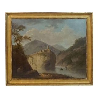 Robert Freebairn Welsh Snowdonia Landscape Painting For Sale