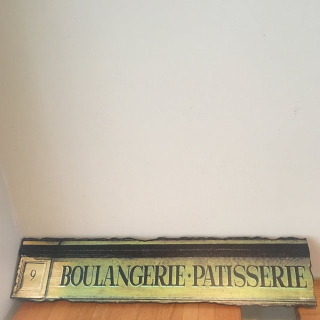 French Bakery Signed and Numbered Sign - Image 2 of 8
