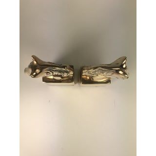 Brass Horse Head Bookends- a Pair Preview