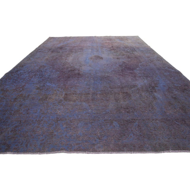 Contemporary Vintage Turkish Rug With Contemporary French Style - 08'00 X 11'01 For Sale - Image 3 of 7