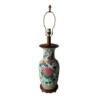 Antique Chinese Table Top Lamp For Sale