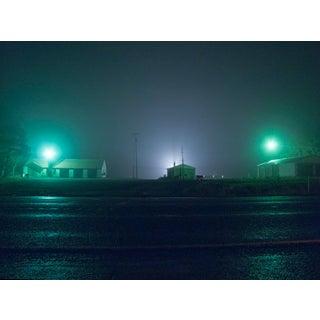 """Roadside Night"" Contemporary Fine Art Photographic Color Print For Sale"