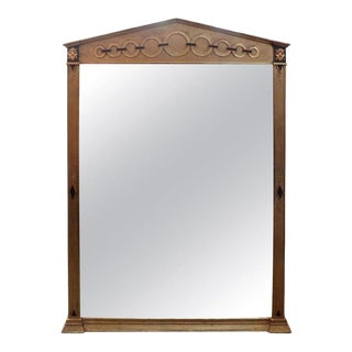 Italian Neoclassical Style Giltwood Mirror For Sale