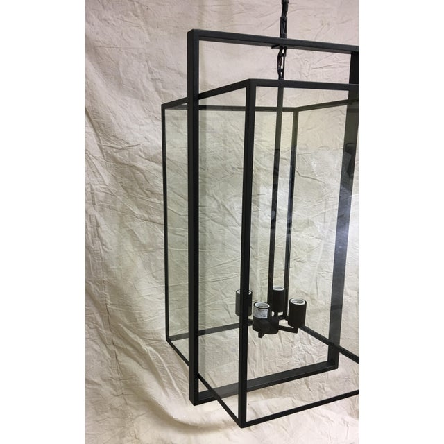 Halle Medium Lantern by Ian K. Fowler for Visual Comfort For Sale In Washington DC - Image 6 of 7