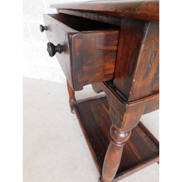 Theodore Alexander Theodore Alexander Castle Bromwich Collection 1 Drawer Accent Table For Sale - Image 4 of 12