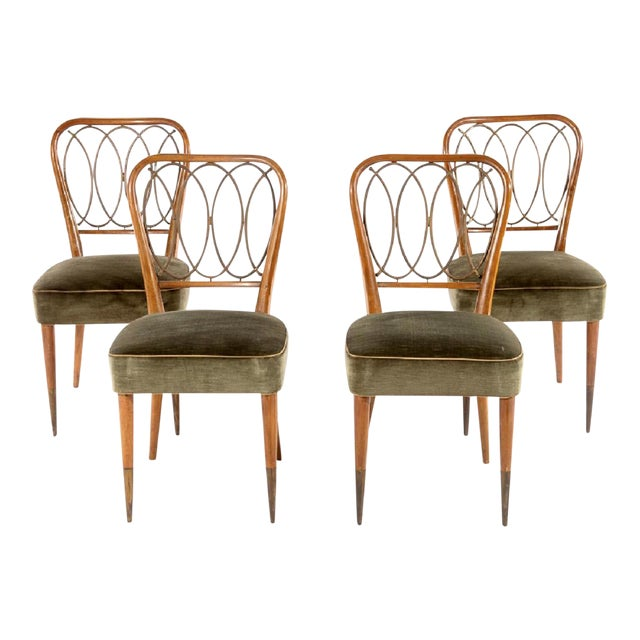Gio Ponti Dining Chairs - Set of 4 - Image 1 of 5