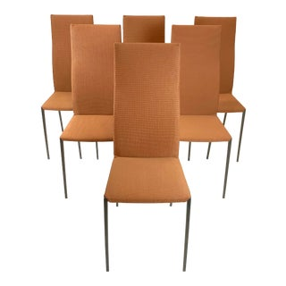 Italian Zanotta Lialta Dining Chairs by Raul Barbieri - Set of 6 For Sale