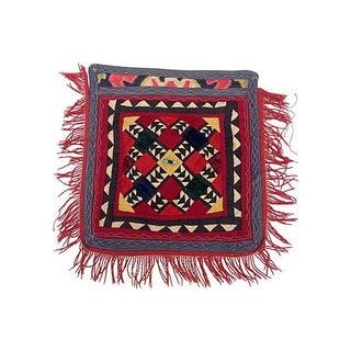 Patchwork Turkish Fringe Textile For Sale