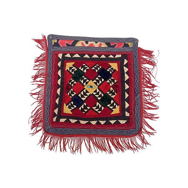Patchwork Turkish Fringe Textile For Sale