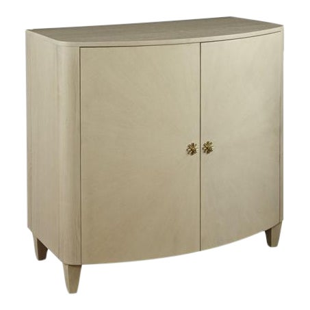 Mary McDonald for Chaddock Celia Demilune Chest Beige For Sale