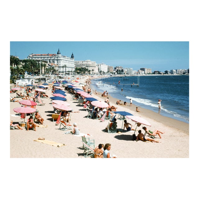 1950s French Riviera Vintage 35mm Film Slide Photograph For Sale