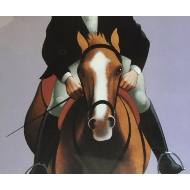 Lynn Curlee The Hampton Classic Poster 1991 by Lynn Curlee For Sale - Image 4 of 7