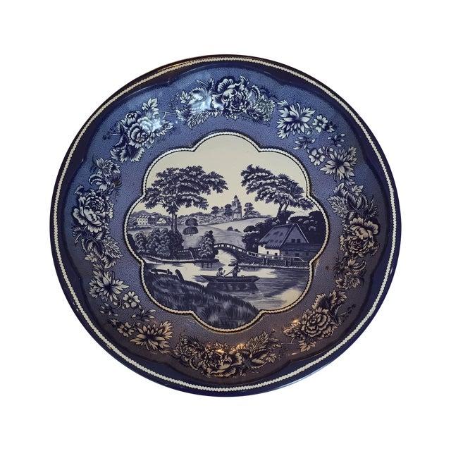 Daher Blue & White Bowl - Image 1 of 3