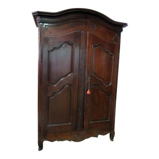 Antique French Provincial Style Armoire For Sale