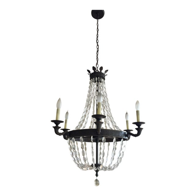 Empire-Style Chandelier - Image 1 of 5