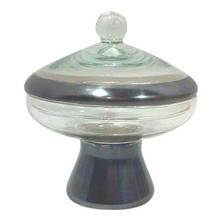 Dorothy Thorpe Flying Saucer Candy Jar