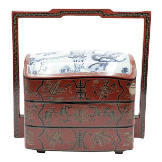 Vintage Chinese Food Box For Sale