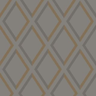 Cole & Son Pompeian Wallpaper Roll - Slate/Bronze For Sale