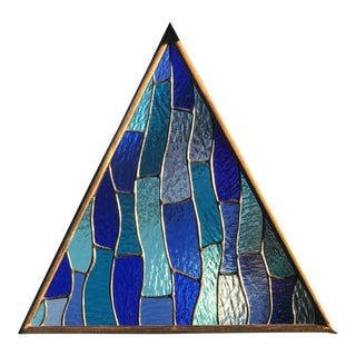 Triangle Stained Glass Window