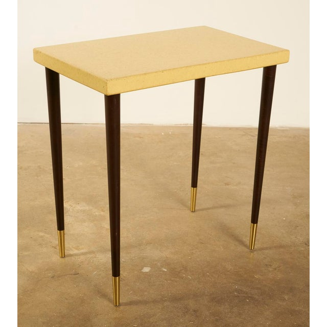 Mid 20th Century Paul Frankl Cork Top Side or Accent Table For Sale - Image 5 of 5