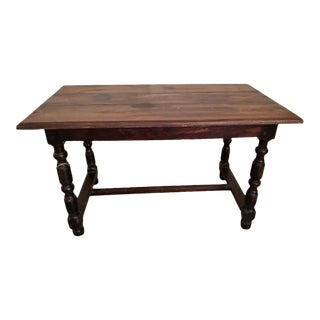 Antique French Trestle Dining Table For Sale