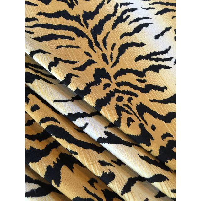 David Sutherland City Kitty Velvet Fabric - 3 Yard - Image 1 of 5