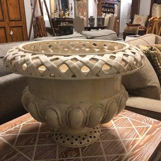 Ivory Glazed Ceramic Vase Preview