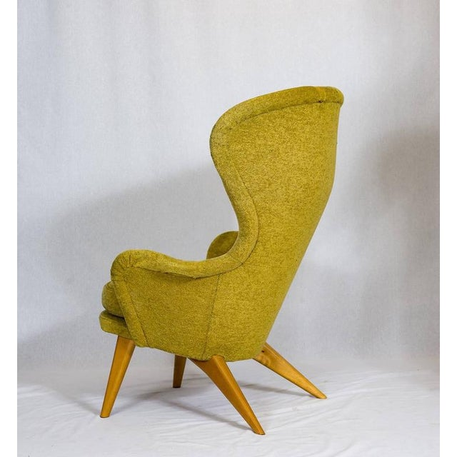Carl Gustav Hiort af Ornäs Lounge Chair For Sale In Los Angeles - Image 6 of 10