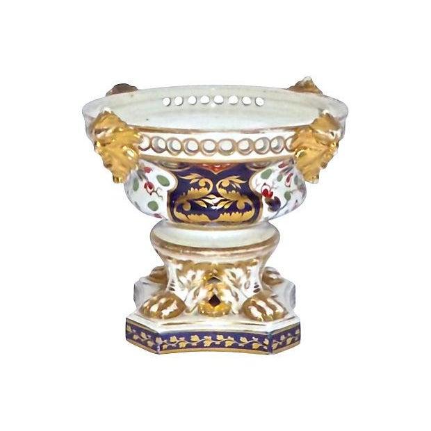 Ceramic Antique Royal Derby Garniture Compote For Sale - Image 7 of 7